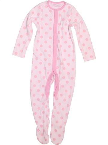 Pijama de 1 pieza niña F&F rosa 12 meses verano #1498772_1