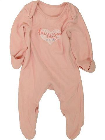 Pyjama 1 pièce fille GEORGE rose 3 mois été #1498783_1