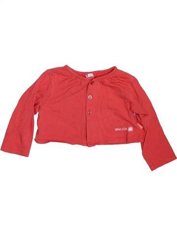Chaleco niña NANO & NANETTE rojo 12 meses verano #1498830_1