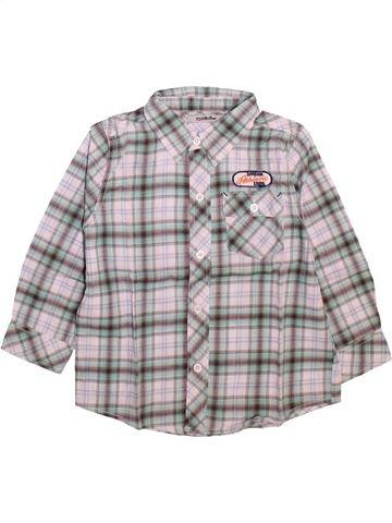 Chemise manches courtes garçon TAPE À L'OEIL violet 5 ans été #1498978_1
