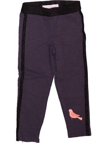 Legging fille ORCHESTRA bleu 3 ans hiver #1499002_1
