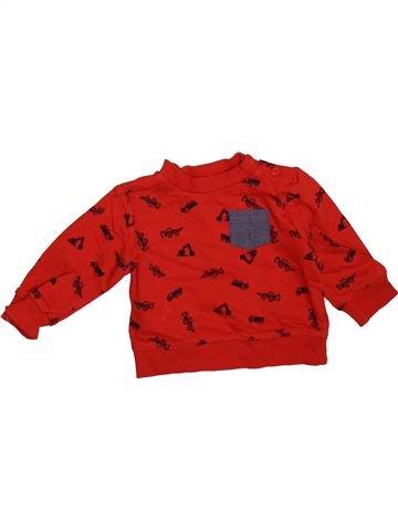 Sweat garçon MOTHERCARE rouge 6 mois hiver #1499040_1