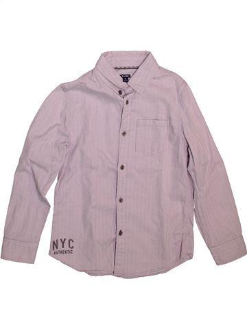 Camisa de manga larga niño KIABI rosa 8 años invierno #1499049_1