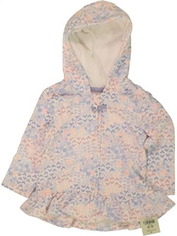 Sweat fille GEORGE rose 9 mois hiver #1499108_1