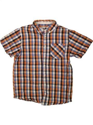 Chemise manches courtes garçon BOYS marron 11 ans été #1499109_1