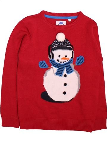Pull unisexe C&A rouge 8 ans hiver #1499131_1