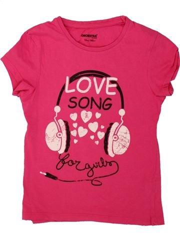 Camiseta de manga corta niña ORCHESTRA rosa 10 años verano #1499140_1