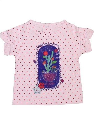 Camiseta de manga corta niña LA COMPAGNIE DES PETITS rosa 6 meses verano #1499215_1