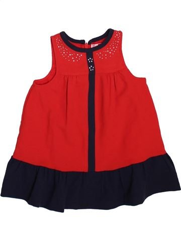 Robe fille DPAM rouge 3 mois hiver #1499244_1