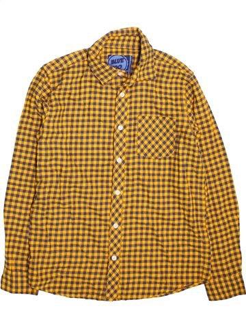 Camisa de manga larga niño BLUEZOO marrón 13 años invierno #1499254_1