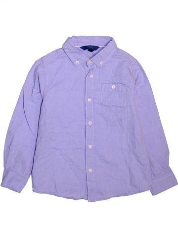 Camisa de manga larga niño OVS violeta 6 años invierno #1499279_1