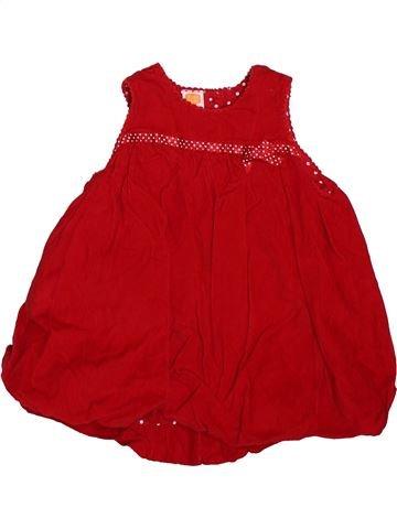 Robe fille MINI MODE rouge 3 mois hiver #1499342_1