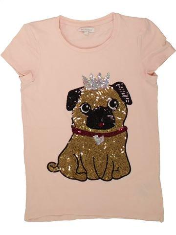 T-shirt manches courtes fille BLUEZOO rose 12 ans été #1499366_1