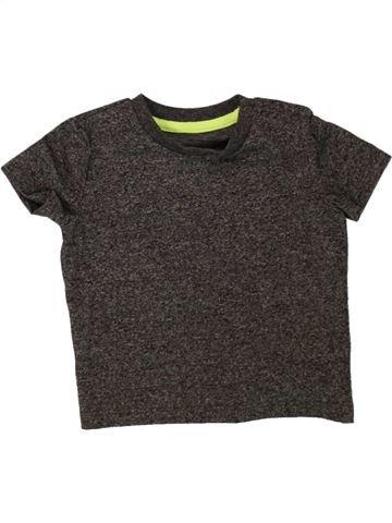 Camiseta de manga corta niño F&F marrón 9 meses verano #1499415_1