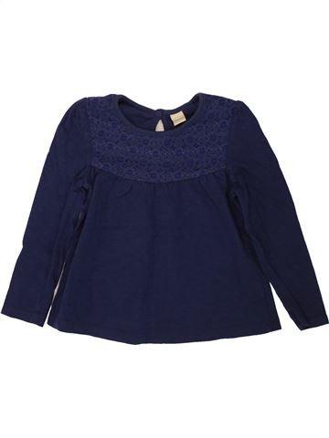 Camiseta de manga larga niña TU azul 3 años invierno #1499445_1