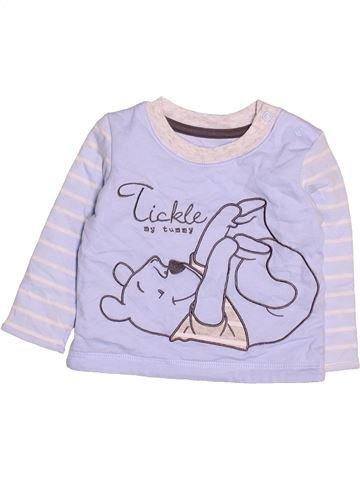 T-shirt manches longues garçon GEORGE violet 3 mois hiver #1499484_1
