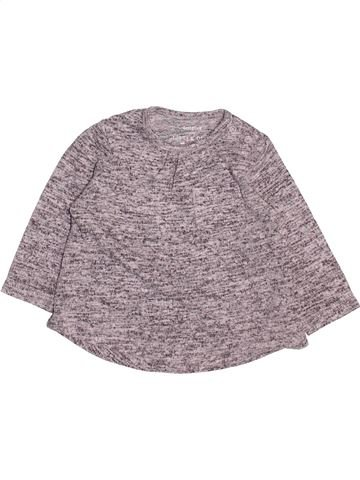 Pull fille F&F gris 3 mois hiver #1499537_1