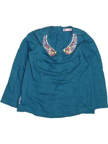 Camiseta de manga larga niña DPAM azul 4 años invierno #1499562_1