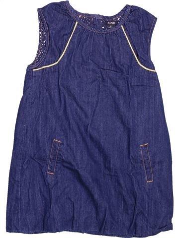 Robe fille KIABI bleu 4 ans hiver #1499587_1