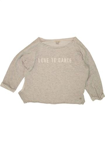 Sweat fille RIVER ISLAND beige 12 ans hiver #1499593_1