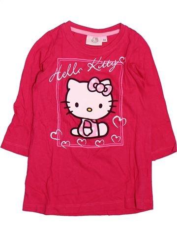 Chemise de nuit fille HELLO KITTY rose 3 ans été #1499614_1
