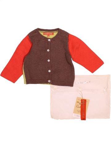 Chaleco niño DPAM marrón 6 meses invierno #1499681_1
