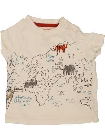 Camiseta de manga corta niño F&F azul 6 meses verano #1499699_1