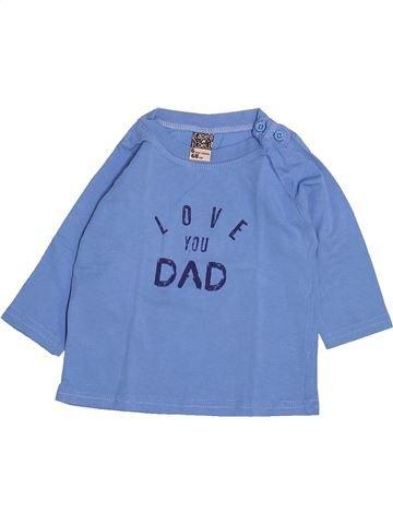 Camiseta de manga larga niño TAPE À L'OEIL azul 6 meses invierno #1499714_1