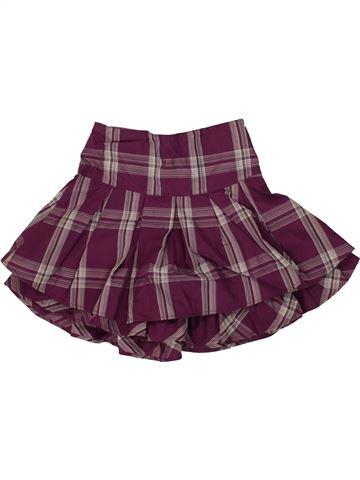 Falda niña SANS MARQUE violeta 5 años invierno #1499715_1