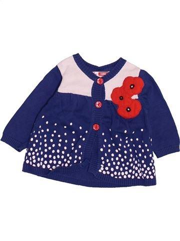 Chaleco niña DPAM azul 6 meses invierno #1499743_1