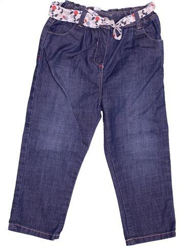 Jean fille OKAIDI violet 2 ans hiver #1499750_1