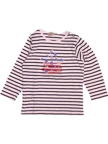 Camiseta de manga larga niña GRAIN DE BLÉ beige 12 meses invierno #1499761_1