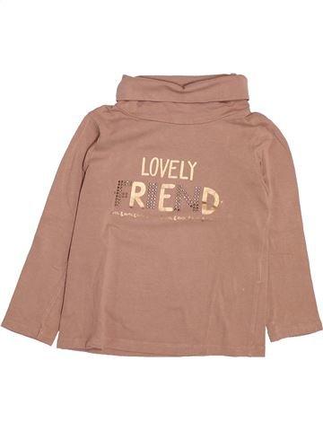 Camiseta de cuello alto niña TAPE À L'OEIL marrón 3 años invierno #1499766_1
