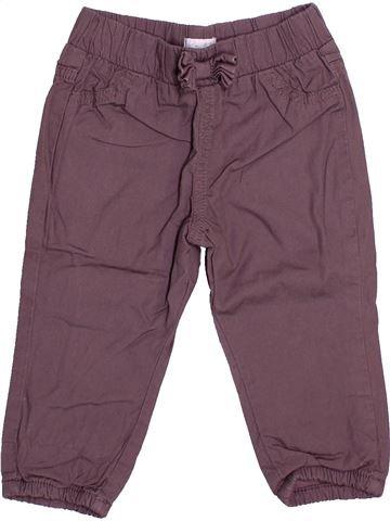 Pantalón niña KIMBALOO violeta 12 meses invierno #1499767_1