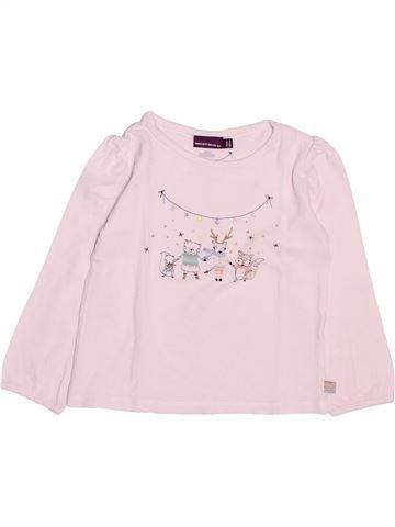 T-shirt manches longues fille SERGENT MAJOR rose 3 ans hiver #1499771_1