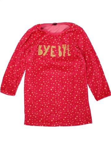 Camisón niña KIABI rojo 6 años invierno #1499776_1