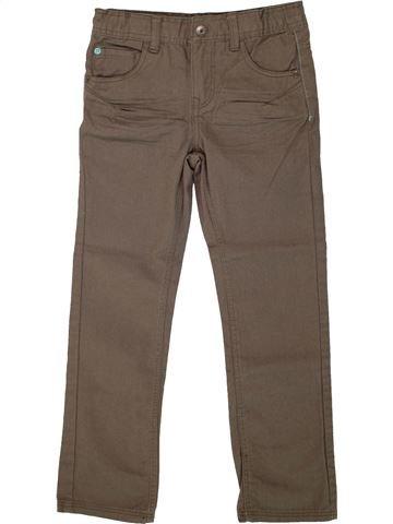 Pantalon garçon VERTBAUDET marron 7 ans hiver #1499790_1