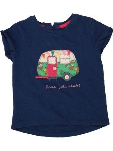 T-shirt manches courtes fille NEXT bleu 9 mois été #1499822_1