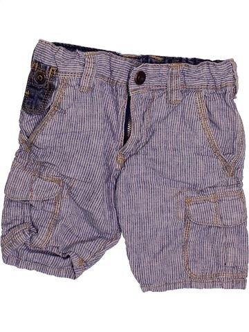 Short - Bermuda garçon OKAIDI violet 3 ans été #1499891_1