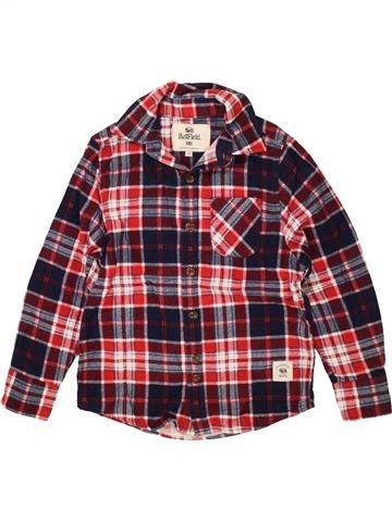 Chemise manches longues garçon BELLFIEL marron 8 ans hiver #1499939_1
