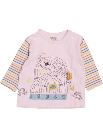 Camiseta de manga larga niño LA COMPAGNIE DES PETITS blanco 3 meses invierno #1500016_1