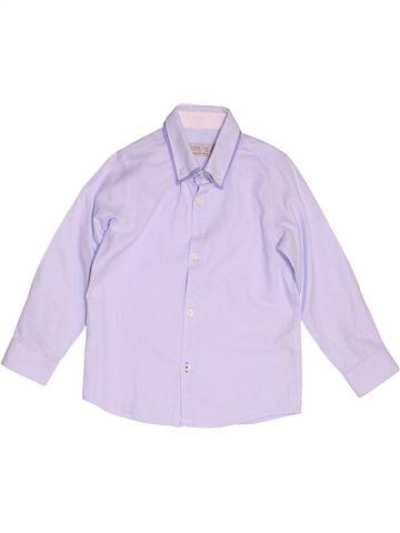 Chemise manches longues garçon ZARA violet 5 ans hiver #1500222_1