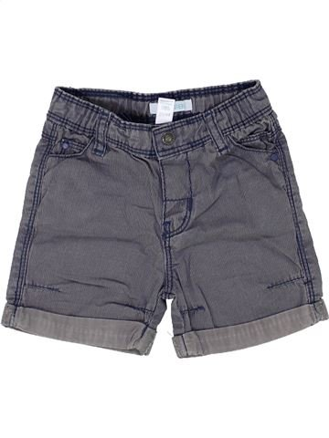 Short - Bermuda garçon OKAIDI bleu 6 mois été #1500317_1