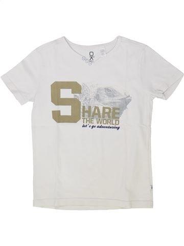 Camiseta de manga corta niño OKAIDI blanco 6 años verano #1500414_1