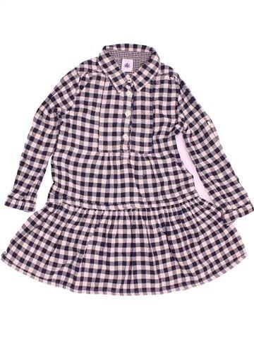 Robe fille PETIT BATEAU gris 3 ans hiver #1500602_1