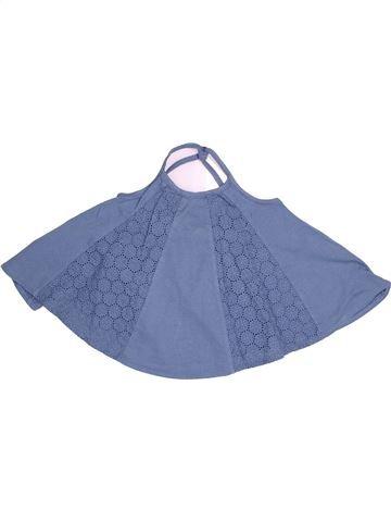 T-shirt sans manches fille VERTBAUDET bleu 5 ans été #1500666_1