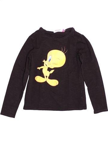 T-shirt manches longues fille ORCHESTRA noir 10 ans hiver #1500866_1
