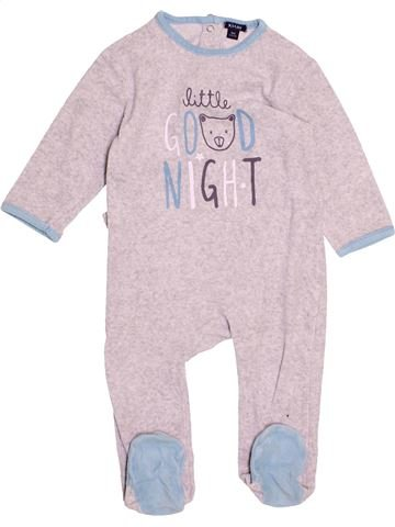 Pyjama 1 pièce garçon KIABI blanc 18 mois hiver #1500910_1