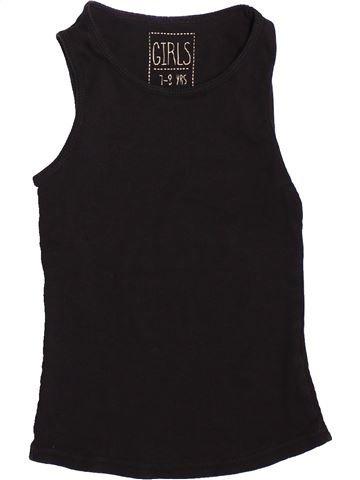 Camiseta sin mangas niña MISS E-VIE negro 8 años verano #1500991_1