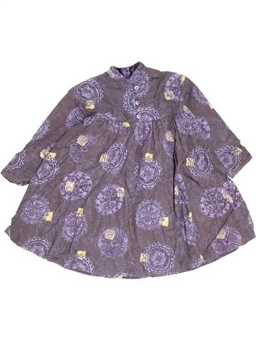Robe fille JEAN BOURGET violet 6 ans hiver #1501025_1